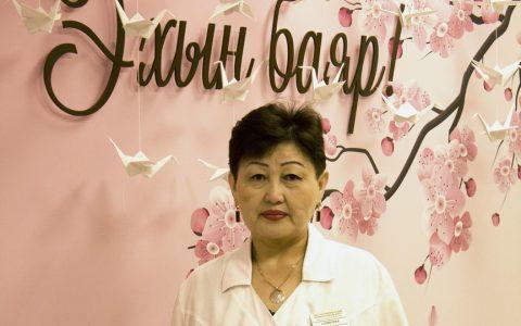 Самбуева Еши-Ханда Дашинимаевна