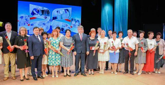 Церемония вручения в честь Дня медицинского работника