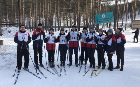 Зимняя спортакиада